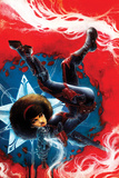 Captain America: Sam Wilson No 7 Cover Featuring Misty Knight