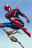 The Amazing Spider-Man No 9 Cover Featuring Mockingbird