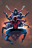 The Amazing Spider-Man No 9 Cover  Featuring: Spider-Man  Spider Woman  Spider-Girl and More