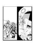 Avengers Assemble Inks Featuring Thor  Iron Man  Tony Stark