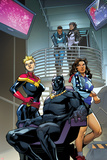 Contest of Champions No 6 Panel Featuring Blue Marvel  Monica Rambeau  Captain Marvel and More