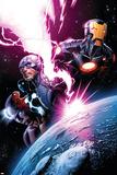 Avengers 7 Featuring Iron Man  Captain America  Spider-Man  Night Mask  Devoux  Tamara