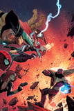 What If Avx 4 Cover: Wolverine  Iron Man  Thor  Hulk  Cyclops  Black Widow  Hawkeye  Magneto