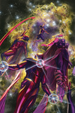 All-New  All-Different Avengers No 10 Cover Art Featuring: Nova  Vision  Thor (Female)  Iron Man