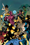 New Warriors No 11 Cover  Featuring: High Evolutionary  Nova  Justice  Scarlet Spider and More