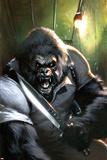 Gorilla-Man No3 Cover: Gorilla-Man Posing