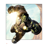 Avengers Assemble Panel Featuring Hulk
