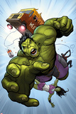 Totally Awesome Hulk No2 Panel  Featuring Totally Awesome Hulk and More