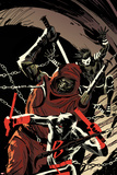 Daredevil No 5 Cover Featuring Blindspot  Fist  Daredevil