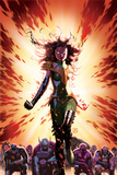 What If Avx 3 Cover: Summers  Hope  Thor  Spider-Man  Wolverine  Cyclops  Phoenix  Storm