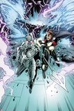 Annihilators No2: Ikon and Quasar Fighting and Running from a Tornado Storm