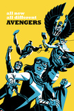 All-New  All-Different Avengers No5 Cover  Featuring Falcon Cap and More