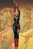 Captain Marvel 14 Cover: Captain Marvel   Ms Marvel  Mystique