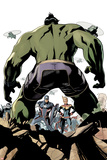 The Totally Awesome Hulk No 9 Cover Art Featuring: Captain America  Captain Marvel