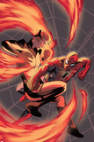 All-New Inhumans No3 Cover  Featuring Crystal and Spider-Man