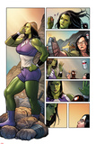 Totally Awesome Hulk No3 Panel  Featuring She-Hulk  Maddy Cho and Ultimate Spider-Man Morales