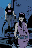 All-New Hawkeye No3 Panel  Featuring Hawkeye and Kate Bishop
