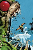 Wolverine & The X-Men No2 Cover: Wolverine  Iceman  and Hulk Fighting