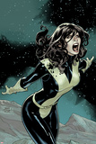 Uncanny X-Men No537 Cover: Kitty Pryde Screaming at Night
