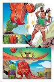 Moon Girl and Devil Dinosaur No 4 Panel Featuring Devil Dinosaur  Totally Awesome Hulk  Moon Girl