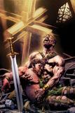 Hercules No 4 Cover Featuring Hercules  Gilgamesh
