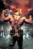 Civil War II: Gods of War No 2 Cover Art Featuring: Hercules  Theseus  Ire  Gil  Lorelei and More