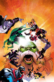Contest of Champions No 6 Cover Featuring Gray Hulk  Gamora  Ares  Maestro and More