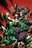 Ultimate End 2 Cover Featuring Gray Hulk  Hulk
