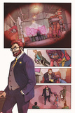 Ms Marvel No2 Panel  Featuring Doctor Faustus and Ms Marvel (Kamala Khan)