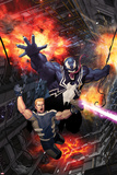 Venom: Space Knight No 6 Cover Art Featuring: Venom  Flash Thompson