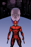 Marvel Knights Presents Cover  Featuring: Kingpin  Daredevil