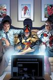 Nova No 8 Cover Art Featuring: Jesse Alexander  Nova  Falcon Cap