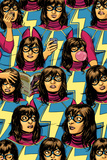 Ms Marvel No 5 Cover Featuring Ms Marvel (Kamala Khan)
