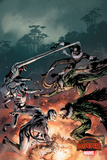 Marvel Secret Wars Cover  Featuring: Ultron  Bullseye  Vulture  Loki