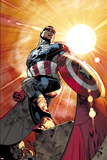 All-New Captain America No 1 Cover  Featuring: Falcon Cap