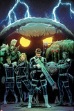 Howling Commandos of SHIELD No3 Cover  Featuring Orrgo  Manphibian  Jasper Sitwell and More