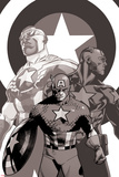 Captain America: Sam Wilson No 7 Cover Featuring Falcon Cap and More