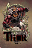 Mighty Thor No 7 Cover Art Featuring Bodolf