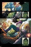 Totally Awesome Hulk No 4 Panel Featuring She-Hulk  Totally Awesome Hulk