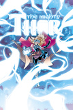 Mighty Thor No 8 Cover Art Featuring Thor (Female)