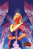 Marvel Secret Wars Cover  Featuring: Captain Marvel