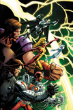 Thunderbolts No 1 Cover Art Featuring: Mach-X  Atlas  Moonstone  Kobik  Winter Soldier  Fixer