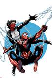 Amazing Spider-Man & Silk: The Spider(fly) Effect No 4 Cover Art Featuring: Silk  Spider-Man