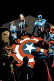 Captain America: Sam Wilson No 7 Cover Featuring Falcon Cap  Captain America and More