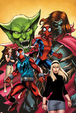Web Warriors No2 Cover  Featuring Jackal  Spider-Man  Kaine  Mary Jane Watson and More