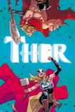 Thor No 4 Cover  Featuring: Thor (female)  Thor