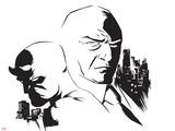 Marvel Knights - Daredevil & Kingpin Design