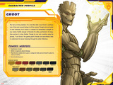 Guardians of The Galaxy Profile Featuring Groot