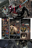 Nova No4 Panel  Featuring Nova  Ultimate Spider-Man Morales and Ms Marvel (Kamala Khan)