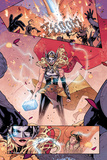 Mighty Thor No 4 Panel Featuring Thor (Female)  Loki